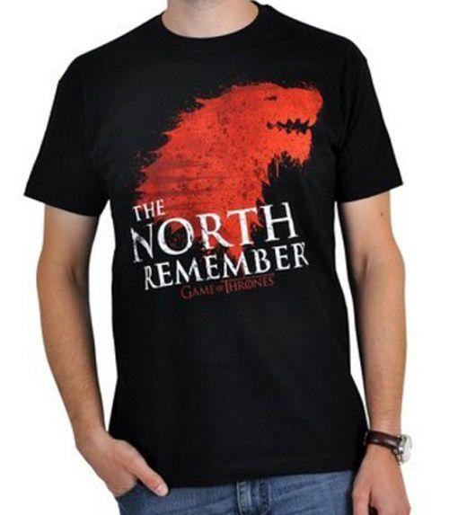 Hra o trůny (Game of Thrones) tričko North Remembers PHD Merchandise
