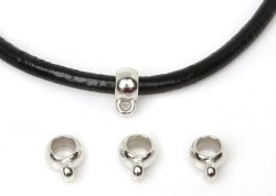 Korálek na náramek/náhrdelník s očkem hladký