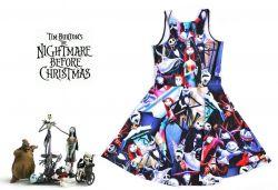 šaty Nightmare before Christmas (Tim Burton)