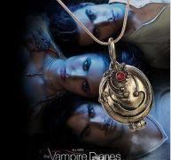 Vampire Diaries (Upíří deníky) Elenin náhrdelník (bronzová)
