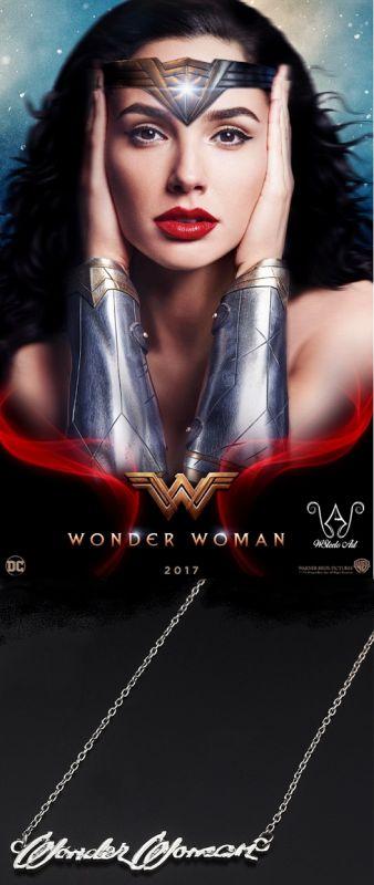 Wonder Woman - náhrdelník se jménem
