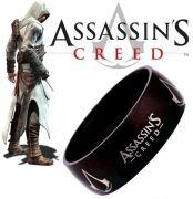 2.jakost prsten Assassins Creed - černý (ocel)