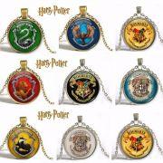 řetízek Harry Potter znaky Bradavických kolejí