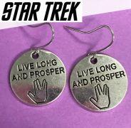 náušnice Star Trek Spock