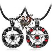 náhrdelník Supernatural (Lovci duchů) - pentagram
