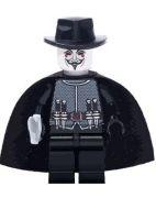 V for Vendetta Blocks Bricks Lego - Guy Fawkes