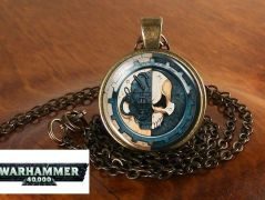 Warhammer 40k náhrdelník Adeptus Mechanicus