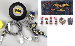 Batman - sada na sluchátka a kabely / ozdoby