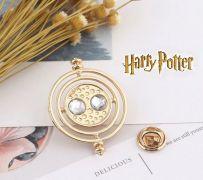 Harry Potter - odznak / brož Obraceč času