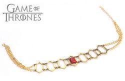 Hra o trůny (Game of Thrones) - náhrdelník Melisandry z Ašaje