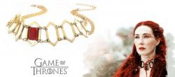 Hra o trůny - náhrdelník Melisandra