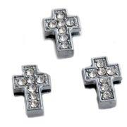 Křížek na náramek / řemínek (pásek) navlékací