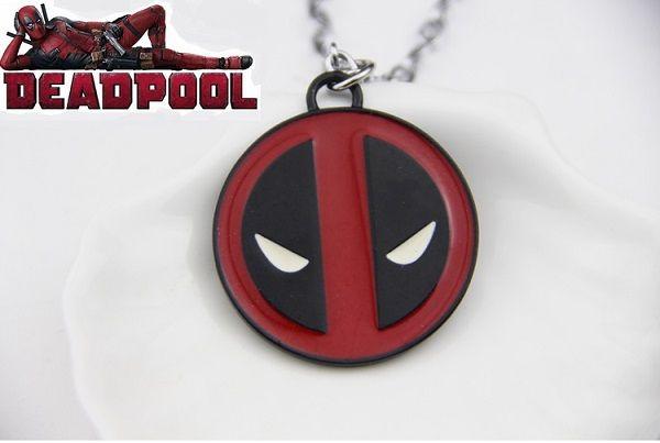 Marvel: Deadpool náhrdelník Logo (velký)