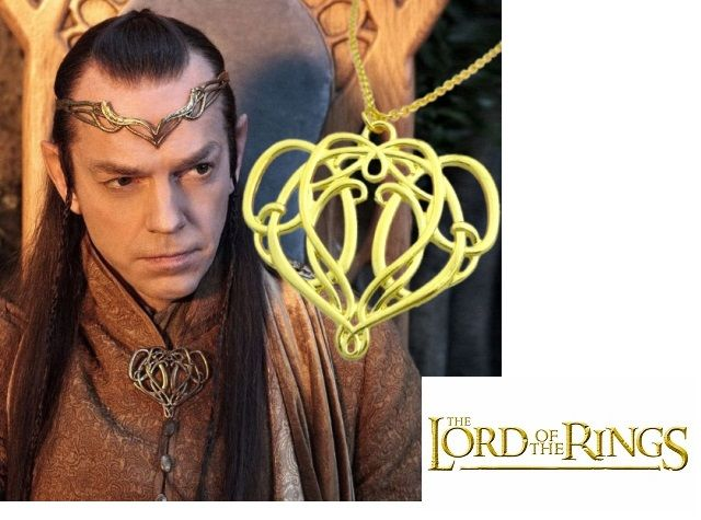 řetízek Pán prstenů (Lord of the Rings) - Elrondova brož
