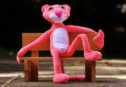 plyšák Růžový panter (Pink Panther)