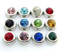 Plovoucí ozdůbka / ozdoba do okénkového medailonku: kamínek