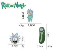 Rick And Morty odznak /odznáček