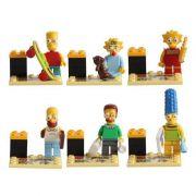 Simpsonovi (The Simpsons) Blocks Bricks Lego sada figurek