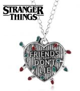 Stranger Things náhrdelník Srdce