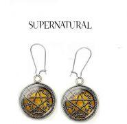 náušnice Supernatural (Lovci duchů) ocel