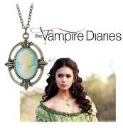 Vampire Diaries / Upíří deníky náhrdelník Katherine Kamej