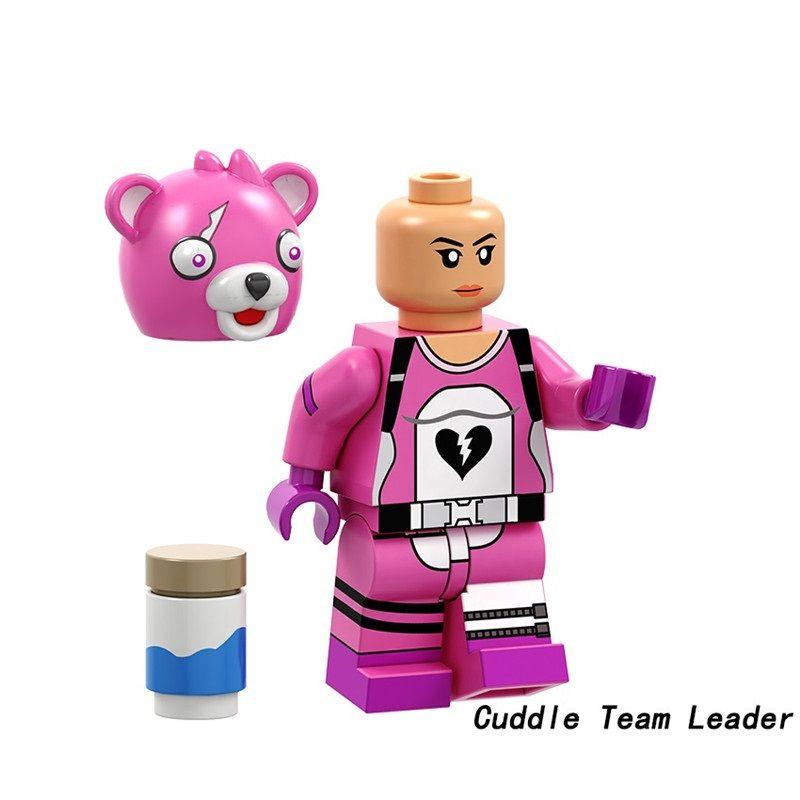 Fortnite Blocks Bricks Lego figurka Kopf
