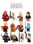 Blocks Bricks Lego figurka Hra o trůny