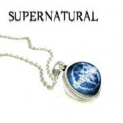 Supernatural řetízek Lovci duchů kulatý pentagram