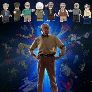 Marvel Blocks Bricks Lego figurka Stan Lee
