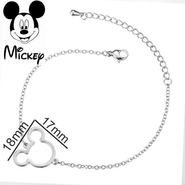 Dámský náramek Mickey Mouse vykrojený
