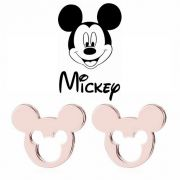 Mickey Mouse náušnice vykrajované