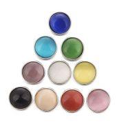 Ozdoba button na náramek (pásek) opálový