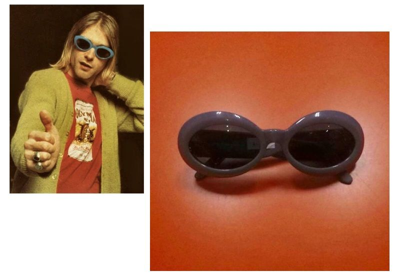 Nirvana - sluneční brýle Kurta Cobaina