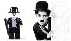 Blocks Bricks Lego figurka Charlie Chaplin