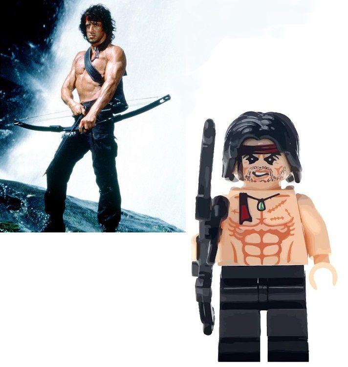 Rambo Blocks Bricks Lego figurka John Rambo / Sylvester Stallone