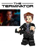 The Terminator Blocks Bricks Lego figurka