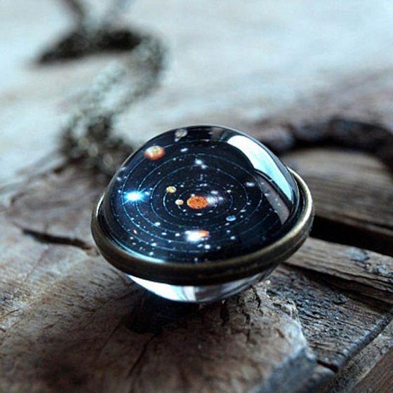 Vesmírný náhrdelník Sluneční soustava