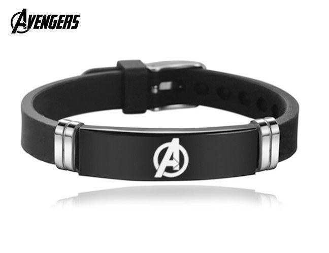 Avengers pánský náramek silikon/ocel