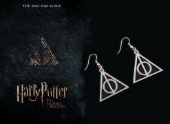 Náušnice Harry Potter Relikvie smrti (velké)