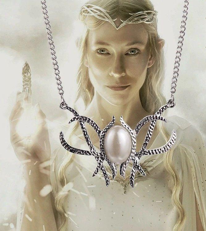 náhrdelník Galadriel (podle brože)