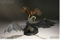 diorama Battle over The Black Gate Fell Beast VS Eagle