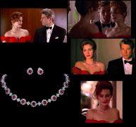 Pretty Woman set náhrdelník a náušnice