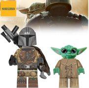 Star Wars Blocks Bricks Lego figurka The Mandalorian