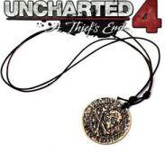 náhrdelník Uncharted 4 Pirátská mince