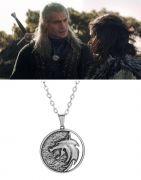 vlčí medailon Zaklínač (Netflix) Geralt z Rivie 3,8cm