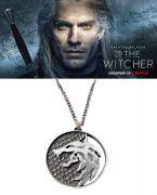 vlčí medailon Zaklínač (Netflix) Geralt z Rivie 4,5 cm
