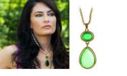 náhrdelník Witches of East End (Čarodějky z East Endu) zelený