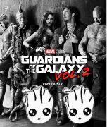 náušnice Strážci Galaxie Groot