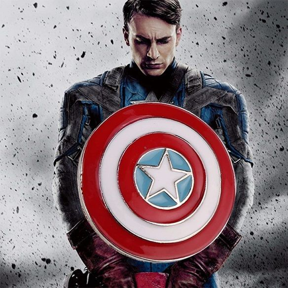 odznak Kapitán Amerika Štít