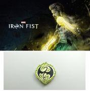 Marvel odznak Iron Fist Netflix